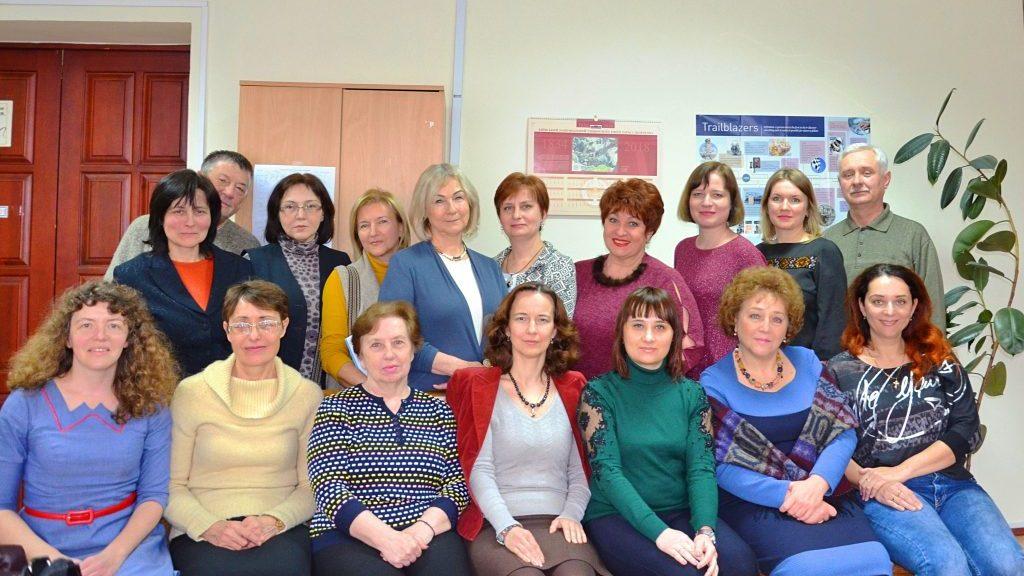 Кафедра іноземних мов природничих факультетів
